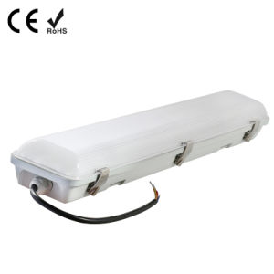 1500mm LED Vapor Proof Light with Metal Clips with Ce IP65 Milky Forsted Cover 60W pictures & photos
