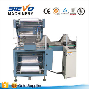 Full Automatic Heat Shrink PE Film Film Wrapping Packing Machine for Juice Bottles pictures & photos