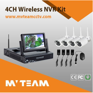 """4CH Wireless Camera Kit with Built-in 7""""Inch LCD Screen (MVT-K04) pictures & photos"""
