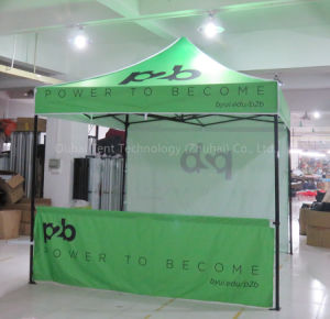 Black Color High Quality Steel Frame Pop up Gazebo 3m X 3m