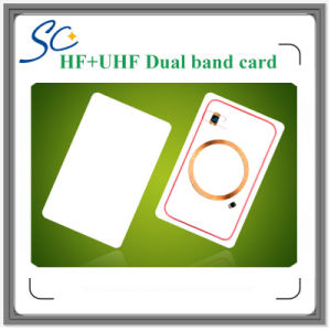 Dual Band Hf+UHF RFID Smart Card for Personnel Access Control pictures & photos