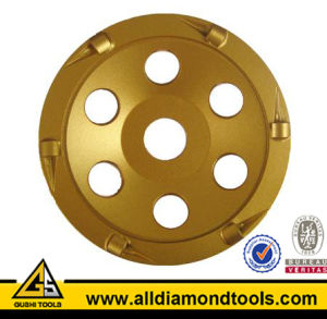 Trapezoid Diamond PCD Grinding Pad for Concrete pictures & photos