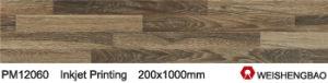 Original Wood Looking Buildings Material 3D Wood Ceramic Tiles pictures & photos