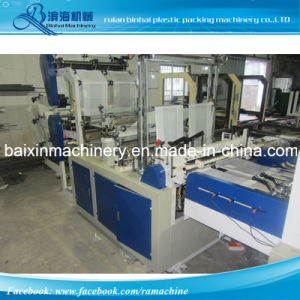 Plastic Handle Shopping Bag Making Machine pictures & photos