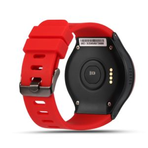 3G WCDMA 1.3GHz Quad Core Android5.1 Smart Watch Phone with GPS WiFi Heart Rate Monitor pictures & photos