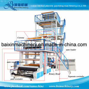 a+B+C Three-Layer Co-Extrusion Blown Film Machine pictures & photos