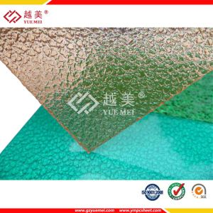 100% Sabic Bronze Transparent 1.8mm, 2mm, 3mm Polycarbonate Embossed Panel (YM-PC-110) pictures & photos