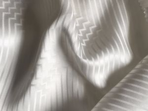 Stretch Jacquard Satin Fabric pictures & photos