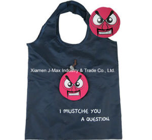Foldable Shopper Bag, Mustache Style, Reusable, Promotion, Lightweight, Tote Bag, Grocery Bags and Handy, Gifts, Decoration & Accessories pictures & photos