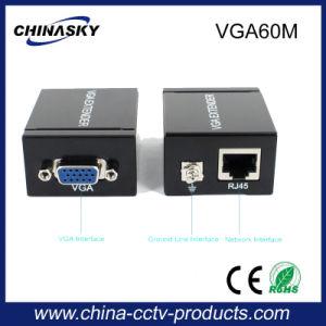60m VGA to RJ45 Video Extender Cat5e/6 Ethernet Converter (VGA60M) pictures & photos