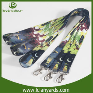 Your Logo Custom Plain Sublimation Lanyard with Carbine Hook pictures & photos
