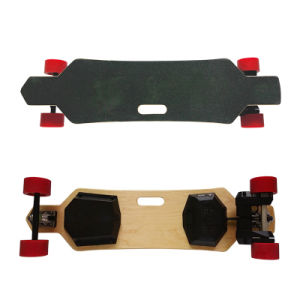 Dual Belt Motor Four Wheel Remote Control Electric Longboard Skateboard pictures & photos