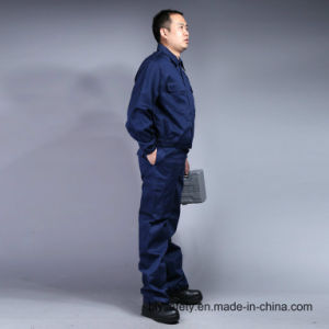 High Quality 100% Cotton Cheap Safety Long Sleeve Suit Working Garment (BLY2003) pictures & photos
