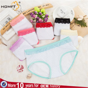 Cotton Small Order Mix Color Girl Underwear pictures & photos