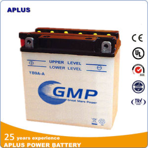 Janpanese Technology Flooded Rechargeable Motorcycle Battery 12V 9ah Yb9a-a pictures & photos