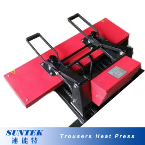 25*100cm Manual Heat Press Machine for Ribbon, Trousers, Narrow Goods pictures & photos