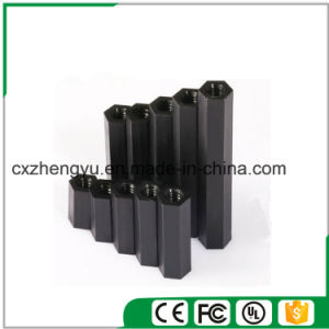 M2 Nylon Hex Threaded Female to Female Standoff/Spacer (Color: Black) pictures & photos