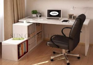 China Office Furniture Cheap Prices Modern White Wooden Office