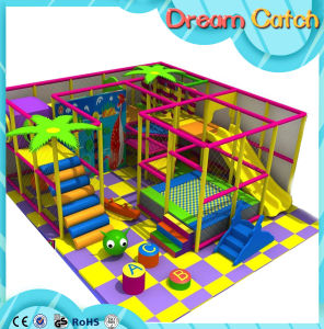 Cheap Small Size Children Round Playground with Trampoline for Bungee Jumping 2017 pictures & photos