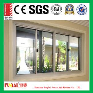Low-E Glass Aluminum Sliding Window pictures & photos