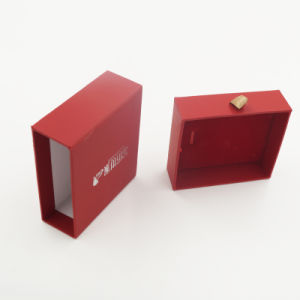 Custom Hand-Made Cardboard Paper Jewelry Box (J64-B1) pictures & photos