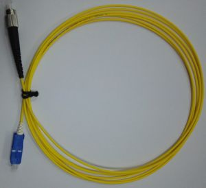 Optical Fiber Cable Patch Cord with Small Boot pictures & photos