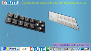 Laser Egraved Light Pass Ability Silicone Keyboard pictures & photos