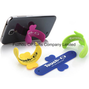 Promotional Gifts 3m Sticker Printed Cellphone Credit Mobile Card Holder pictures & photos
