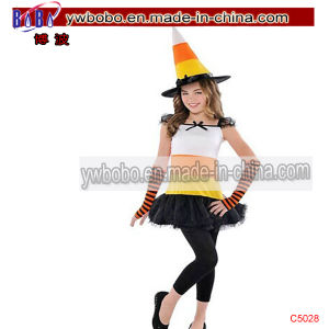 Carnival Costume Girls Candy Corn Charmer Costume (C5028) pictures & photos