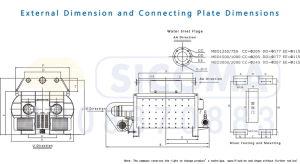 Sicoma Economical Twin Shaft Concrete Mixer pictures & photos