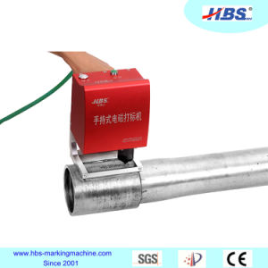 Electronic Portable DOT Peen Marking Machine for Pipe Number Marking pictures & photos