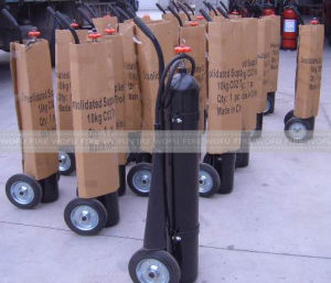 10kg Trolley Black CO2 Fire Extinguisher pictures & photos