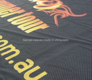 Shiny Full Color Polyester Fabric Banners (SS-SF-94) pictures & photos