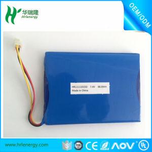 Recargables De Litio 10000 mAh -1350mAh 7.4V Lipo Battery for POS Machine pictures & photos