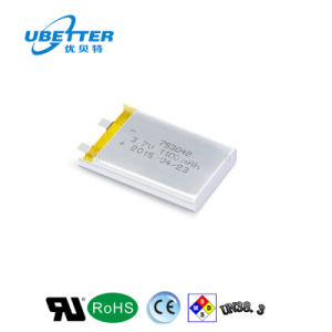 2000mAh 3.7V 1c Lithium Polymer Battery for Consumer Electronics Ce UL pictures & photos