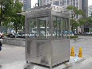 Modular Glass Low Cost Small Mobile Prefabricated House for Road Guard in China pictures & photos