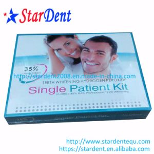 Dental Teeth Whitening Hydrogen Peroxide Single Patient Kit pictures & photos