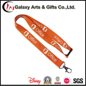 Custom Breakway Lanyard Silkscreen Printing Polyester Office Lanyard for Badage Holder pictures & photos