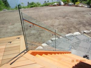 Outdoor Frameless U Channel Glass Railing for Staircase pictures & photos