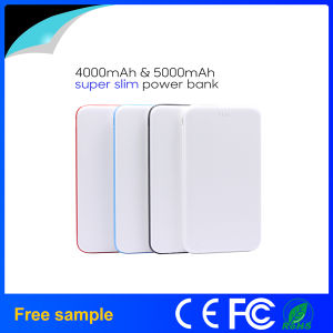 2016 New Arrival Super Thin 4000mAh Power Bank