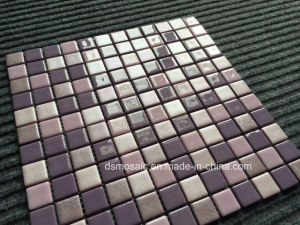 Luxurious Full Body Purple Glassic Mosaic for Swimming Pool pictures & photos