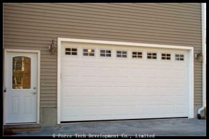Remote Control Automatic Sectional Garage Doors with High Quality pictures & photos