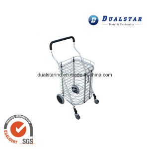 Portable Folding Wheeled Shopping Trolley