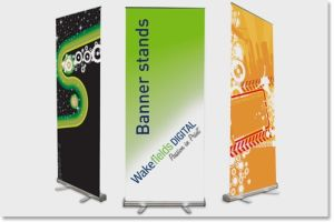 Easy Moved Custom Stand Banner Display pictures & photos