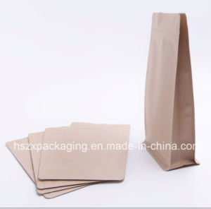 Sewn Bottom Kraft Paper Bag Packing pictures & photos