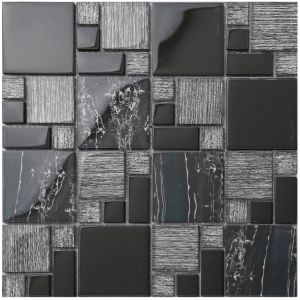 Interior Tile Stained Glass Mosaic on Promotion (AJ2A1012) pictures & photos