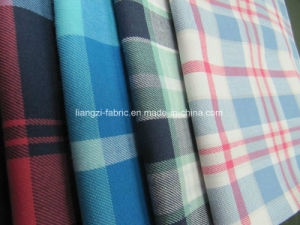 Yarn Dyed Cotton Stretch Flannel Fabric for Shirt pictures & photos