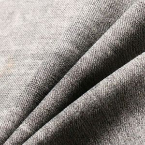 Black Cotton Polyester Denim Fabric for Fashion Jeans pictures & photos