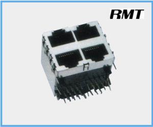 RJ45 Connector (RMT-59-1059-2*2) pictures & photos