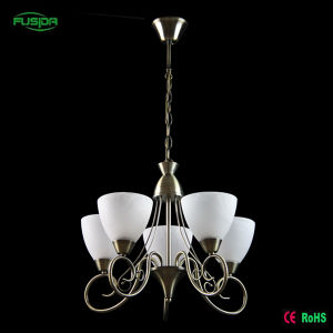 Home Decoration Classic Style White Glass Chandelier pictures & photos